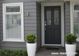A simple but elegant exterior and interior colour scheme - Exterior paint colours nz image ...