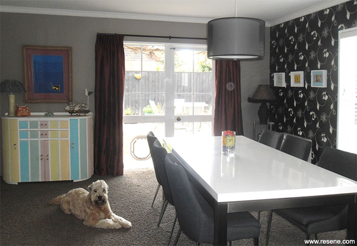 Dining Room Refreshed With Resene Double Perfect Taupe