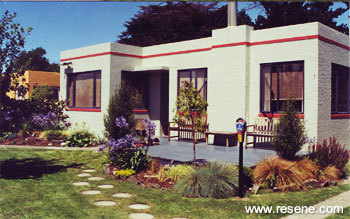 Finest Colour Schemes For Art Deco Homes With Colours For Outside Walls.