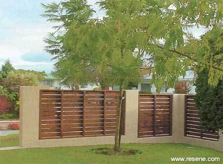 Wooden Fence Designs Nz