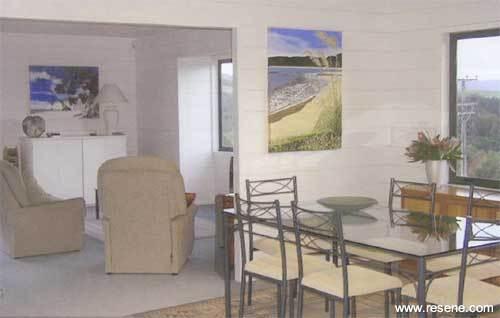 Resene Paint Lightens An Aged And Darkened Timber House