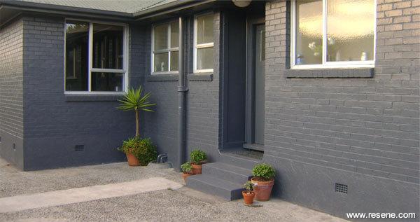 Dark Grey House Exterior Australia