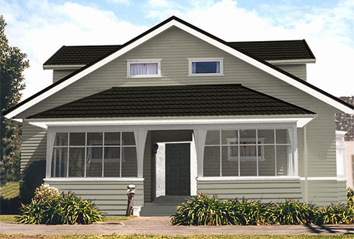 Exterior House Colour Schemes Created By Resene Ezypaint