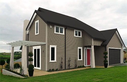 Exterior House Colour Schemes Created By Resene Ezypaint Virtual Painting Software