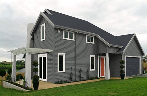 Exterior House Colour Schemes Created By Resene Ezypaint