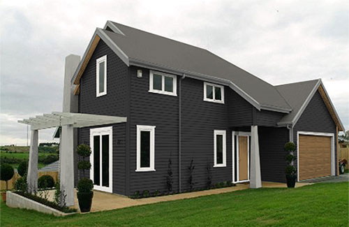Exterior House Colour Schemes Created By Resene Ezypaint Virtuallinea Home  Suggested Colour Scheme 1