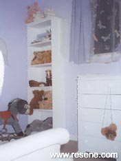 Restful Resene Fog, a lilac for a baby's room