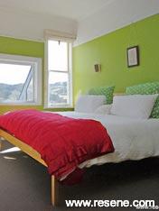 Resene Citron in bedroom