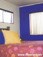 Resene Jacksons Purple bedroom walls