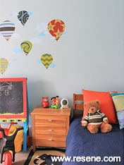 Resene Ziggurat beach themed children's bedrooms
