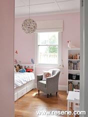 Resene Vanilla Ice girl's room