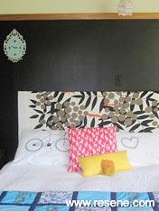 Resene Nero bedroom