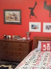 Resene Havoc boy's room