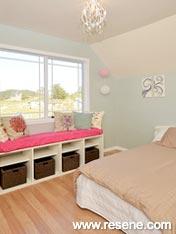 Resene Periglacial Blue bedroom walls