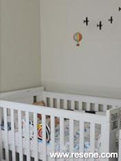 Resene Thornton Cream nursery
