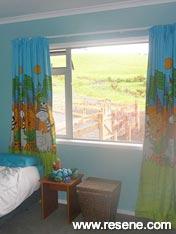 Resene Kumutoto aquamarine boy's room