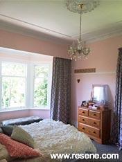 Resene Cinderella walls with Resene Alabaster trims