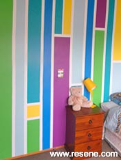 Decorated boy's rooms