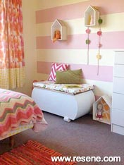Bright and happy pink room
