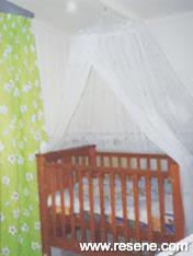 Nursery of green and neutrals
