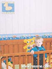 Bright boys room