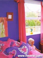 Bright girl's room