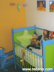 A toddler's first room
