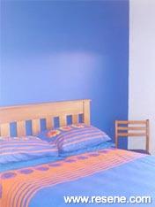 Resene Bullitt bedroom