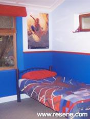 Spiderman themed bedroom