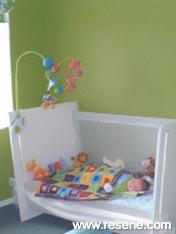 Resene Atlantis in a boys bedroom