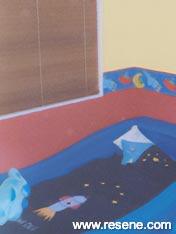 Bright children's rooms