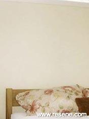 Bedroom of Resene Blondee