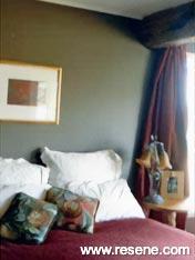 Resene Oilskin Bedroom
