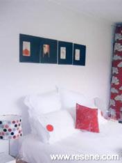 Resene Vista White bedroom