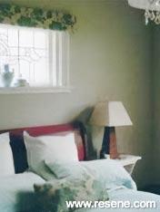 Bedroom painted in Resene Half Cougar