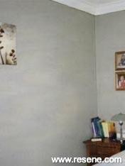 Bedroom painted in Resene Napa
