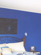 Painting feature walls
