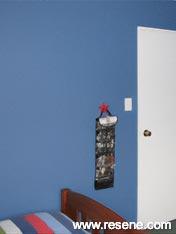 Child's bedroom in Resene Astronaut