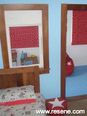 Child's bedroom Resene Anakiwa and Resene Subzero