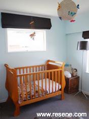 Baby's bedroom Resene Sea Fog