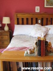 A non-neutral bedroom