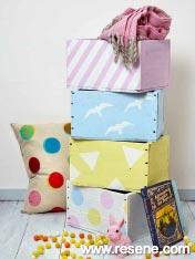 Brighten bedroom with crafts