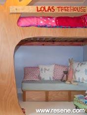 Stylish girl's bedroom