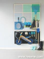 A garage storage solution