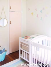 Add a sense of style to your baby's nursery