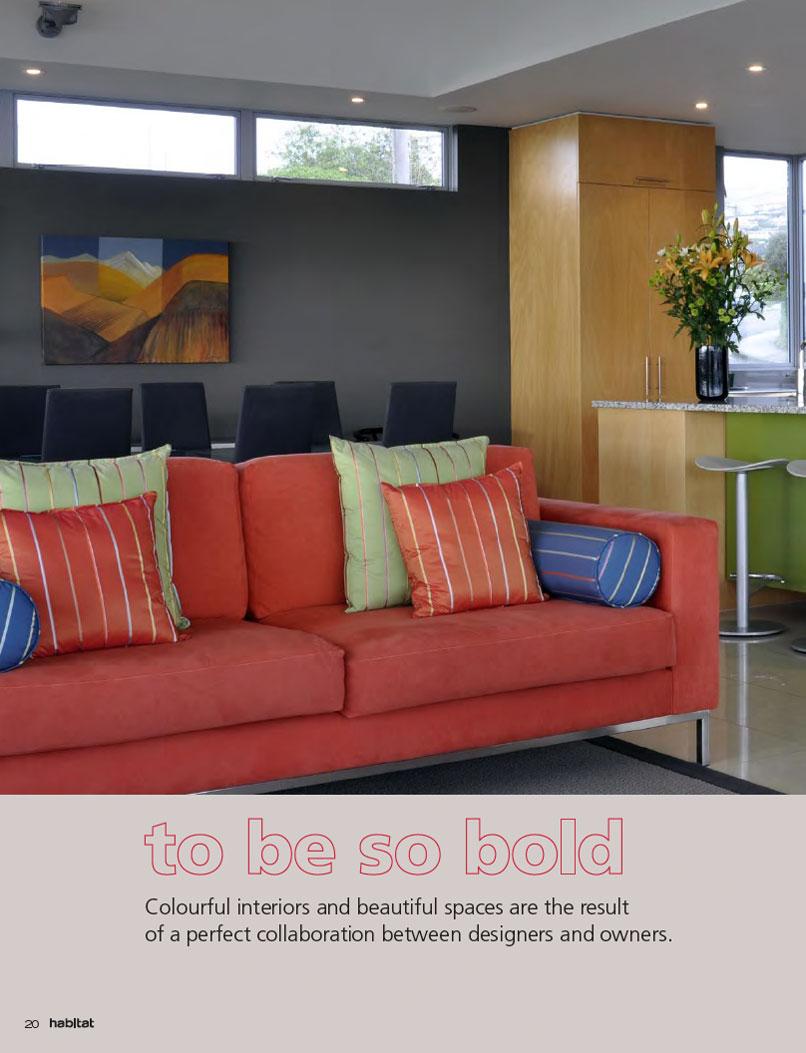 A bold and colourful colour scheme - Bold habitat ...