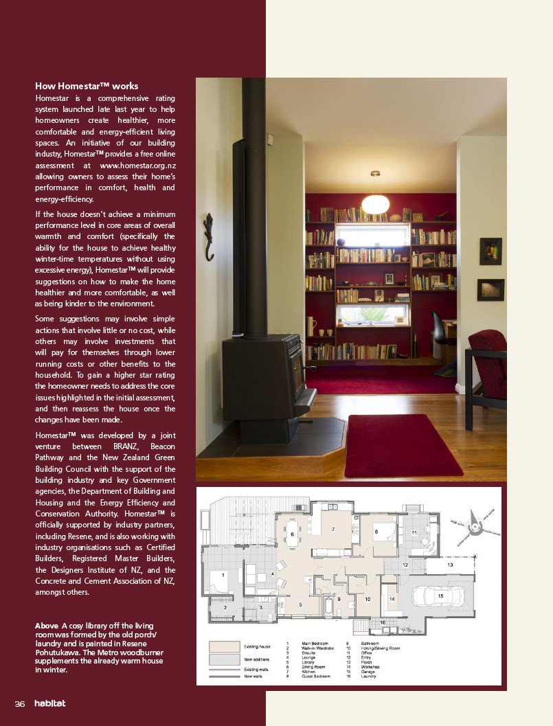 Habitat Magazine Published By Resene Paints Old House Wiring Nz State Of Grace