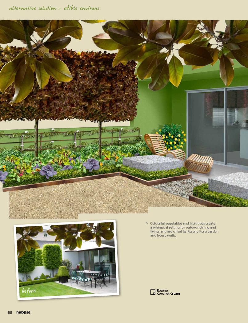 A small garden that looks big for Small garden designs nz
