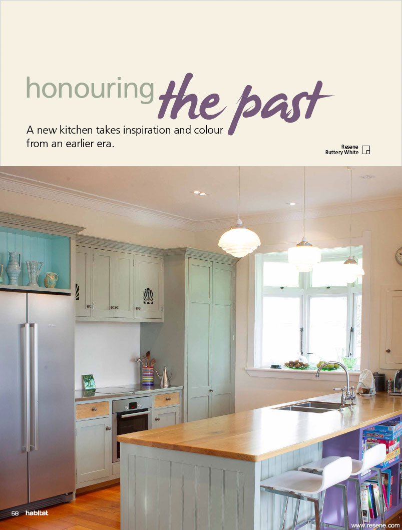 Kitchen Inspiration From Another Era