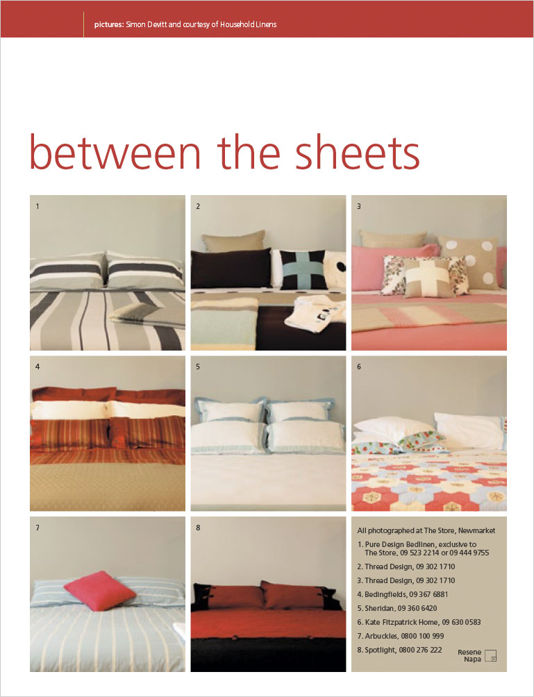 between the sheets habitat magazine published by resene. Black Bedroom Furniture Sets. Home Design Ideas